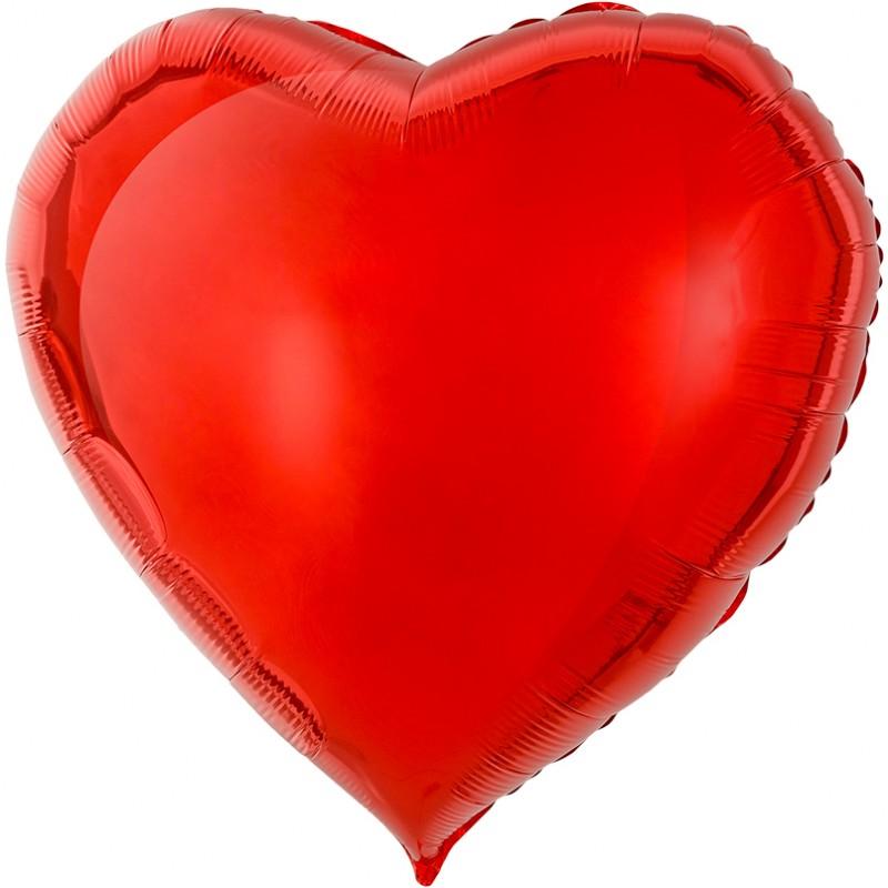 Сердце Красный 76см