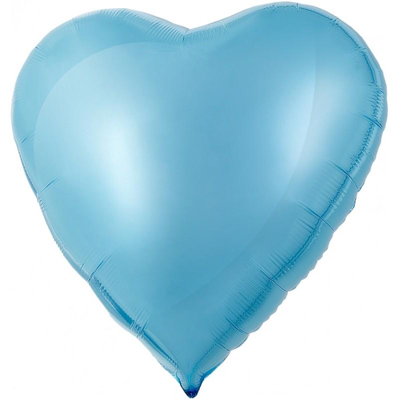 Сердце Холодно-голубой 76см