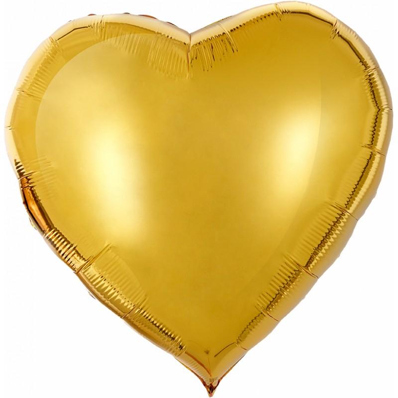 Сердце Золото 76см