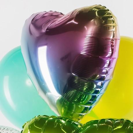 Нежный зеленый Фонтан из шаров