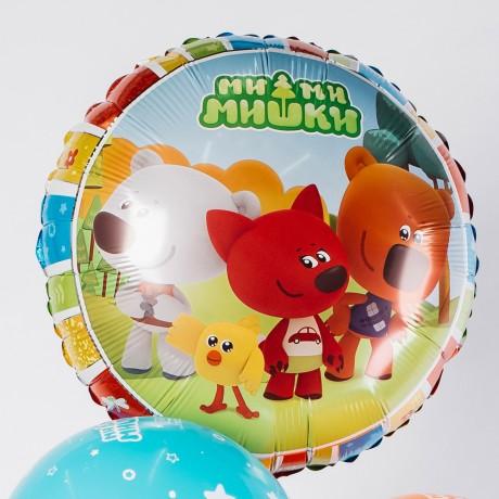 Ми-ми-мишки Цифра и Фонтан из шаров