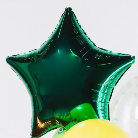 Яркий всплеск Фонтан из шаров