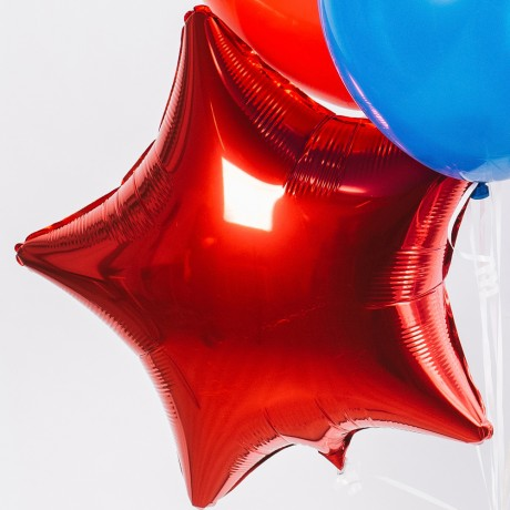 Супергеройский Фонтан из шаров