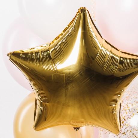 Золотая Звезда Фонтан из шаров