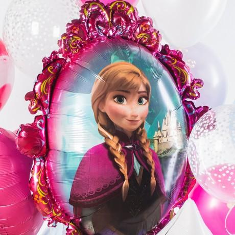 Принцессы Эльза и Анна Фонтан из шаров
