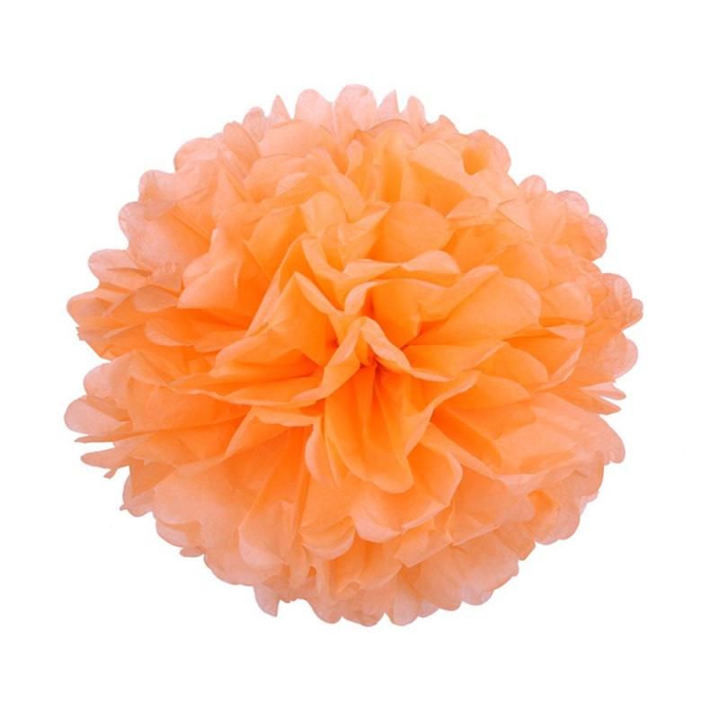 Светло-Оранжевый 25см Помпон