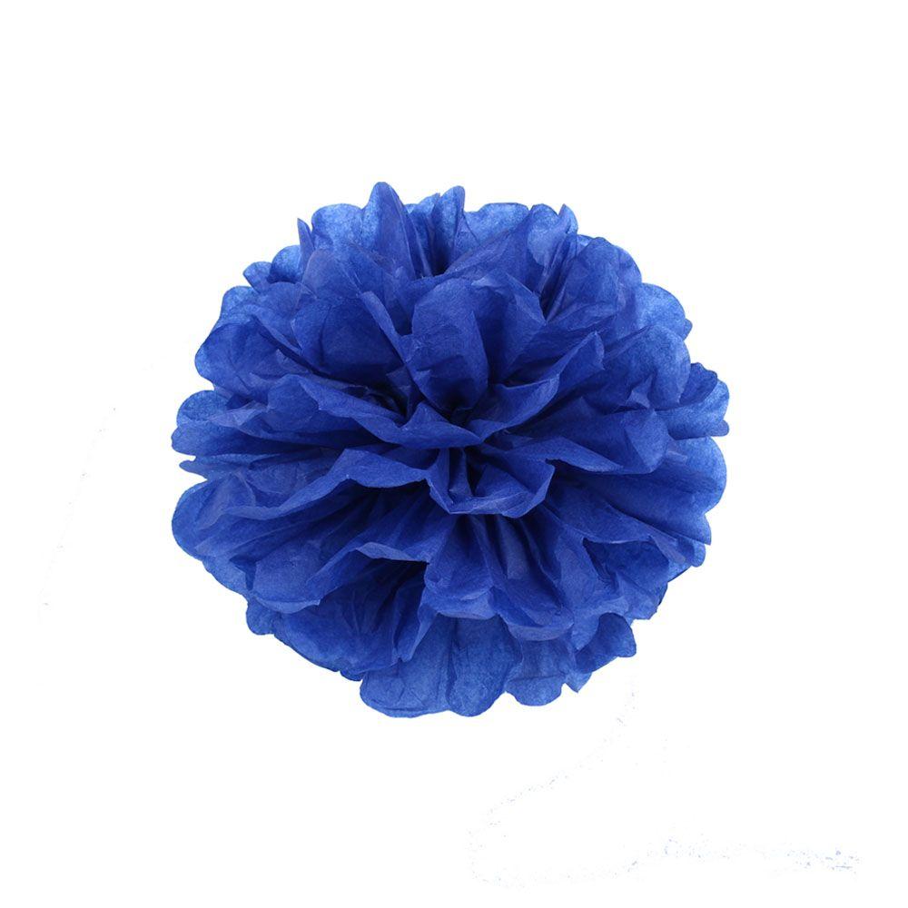 Темно-синий 15см Помпон