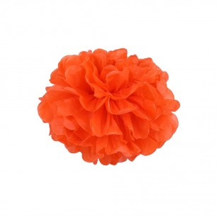 Оранжевый 15см Помпон