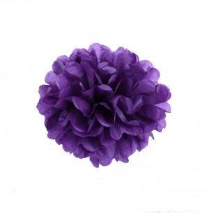 Фиолетовый 15см Помпон
