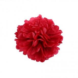 Красный 15см Помпон