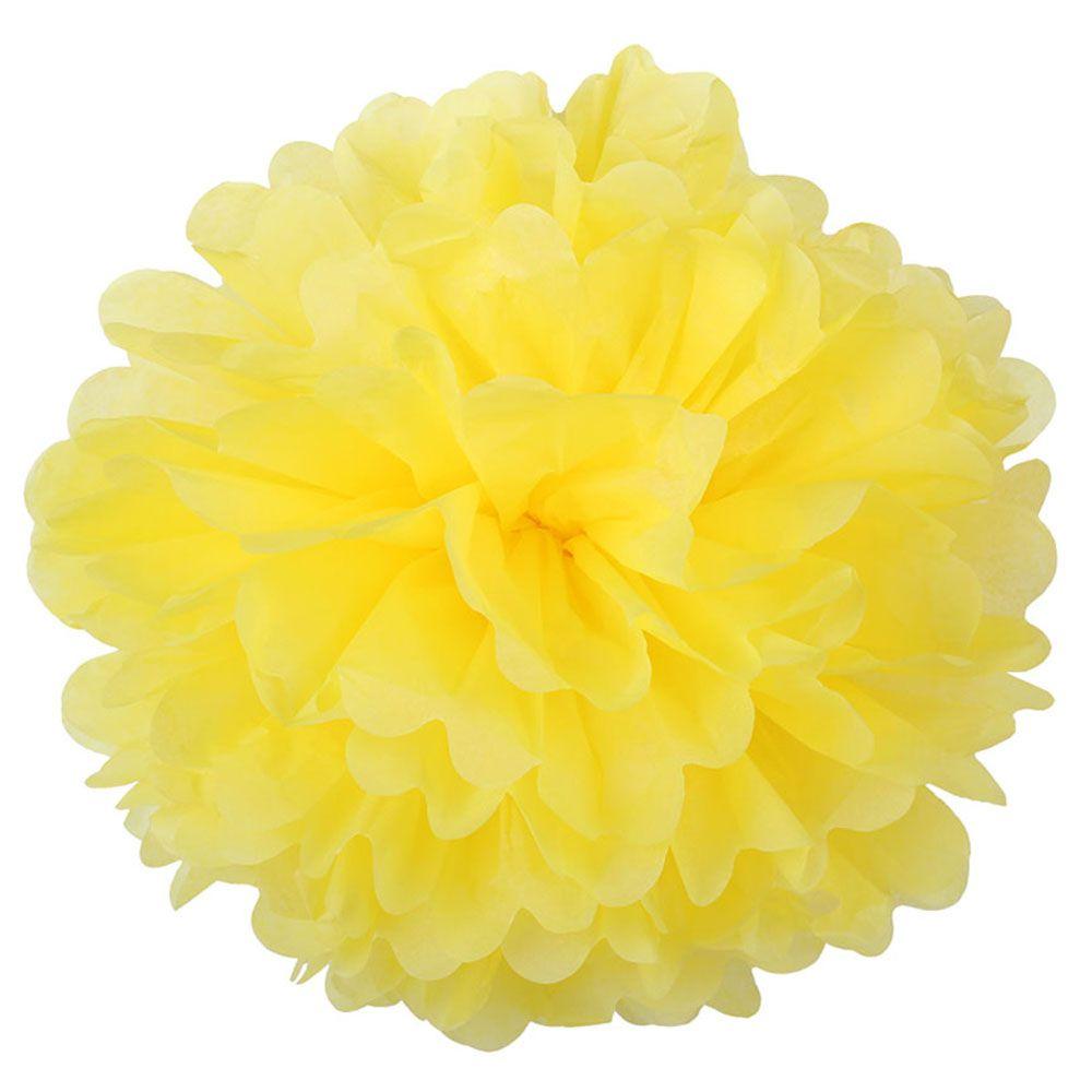Желтый 45см Помпон