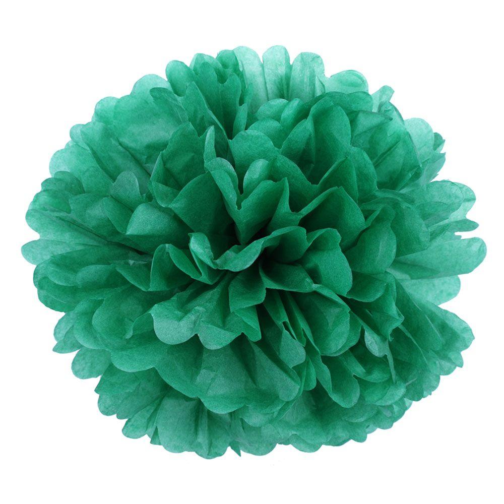 Зеленый 45см Помпон