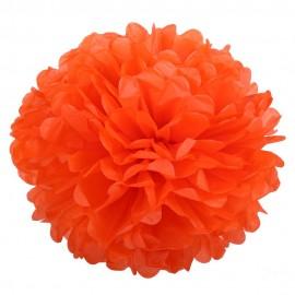 Оранжевый 45см Помпон