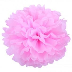 Розовый 45см Помпон