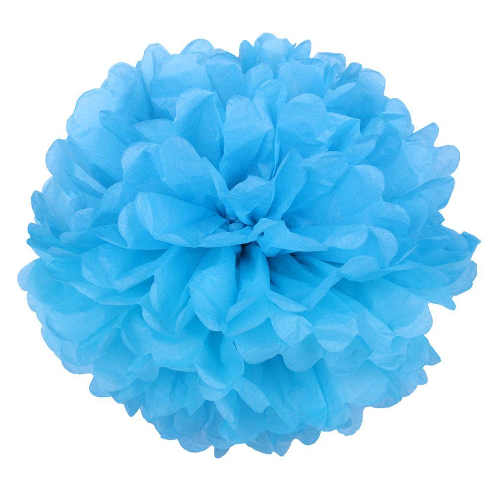 Синий 45см Помпон
