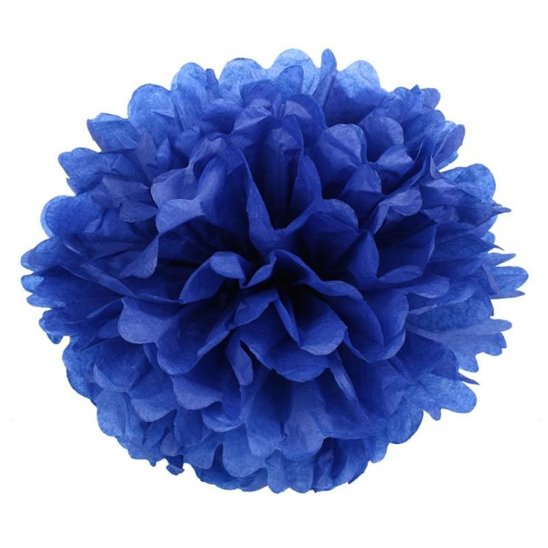 Темно-Синий 45см Помпон