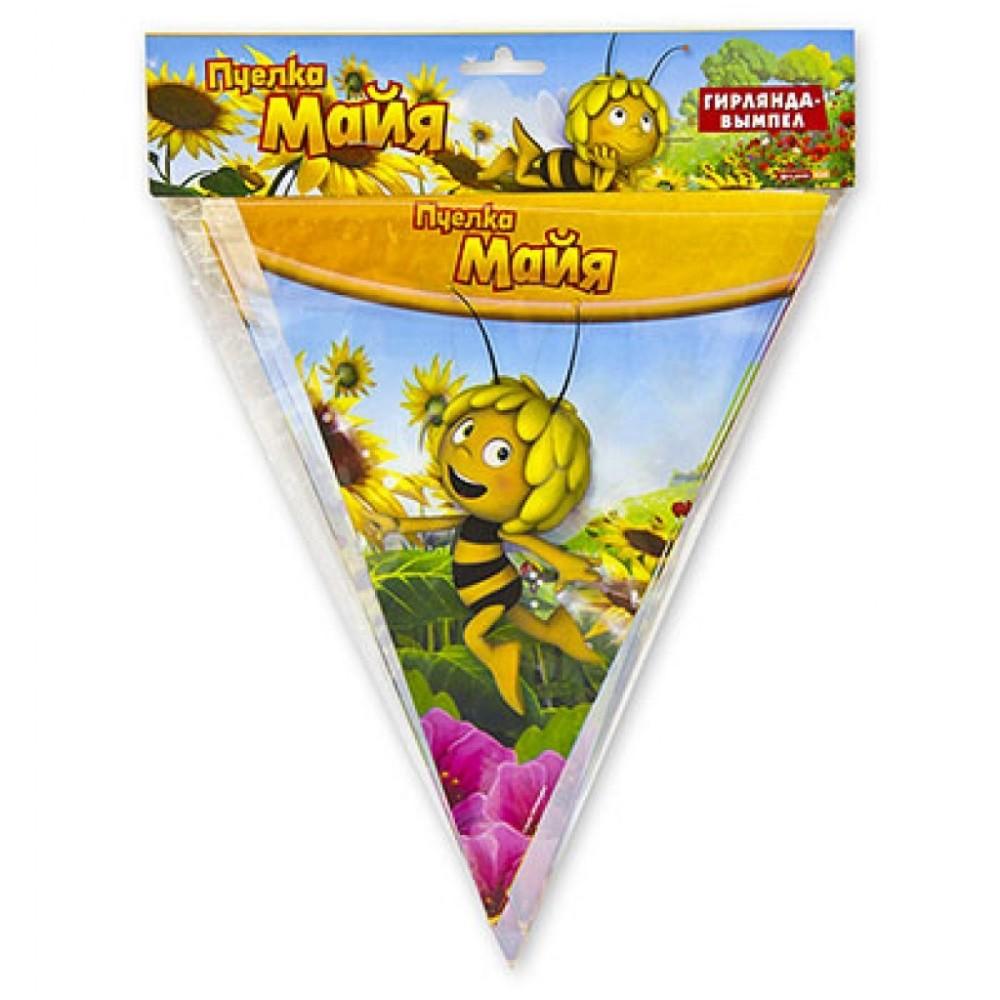 Гирлянда-вымпел Пчелка Майя