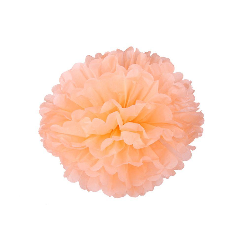 Персиковый 15см Помпон