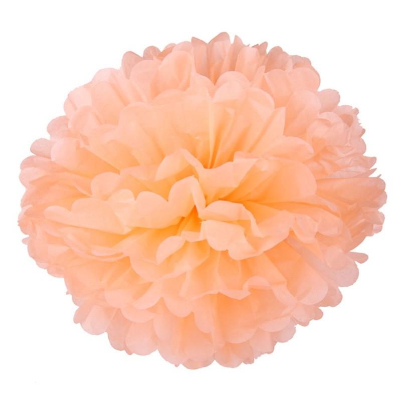 Персиковый 45см Помпон