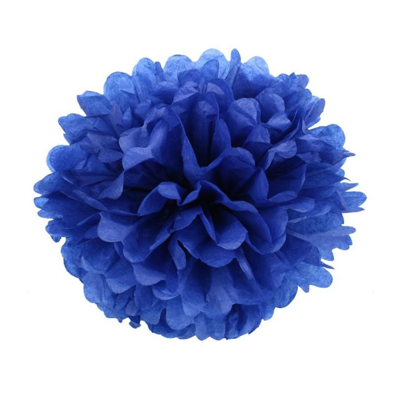 Темно-Синий 25см Помпон