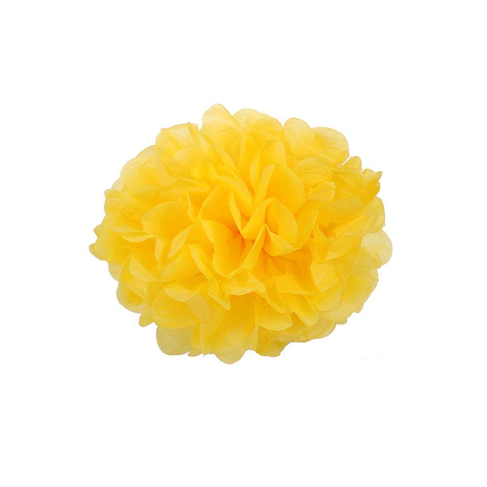 Ярко-Желтый 15см Помпон