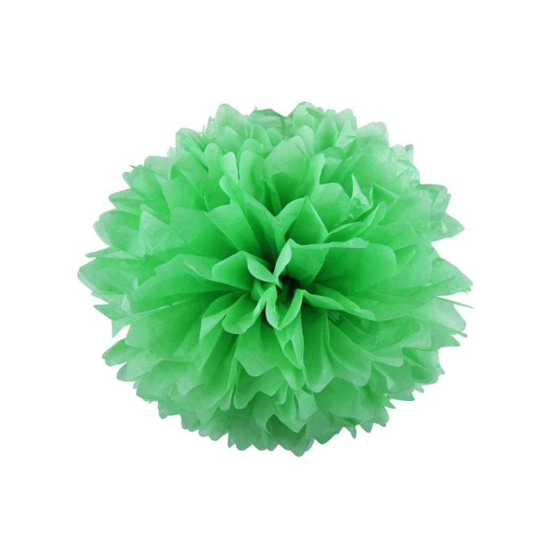 Светло-зеленый 15см Помпон