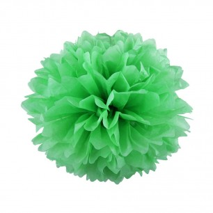 Светло-Зеленый 25см Помпон