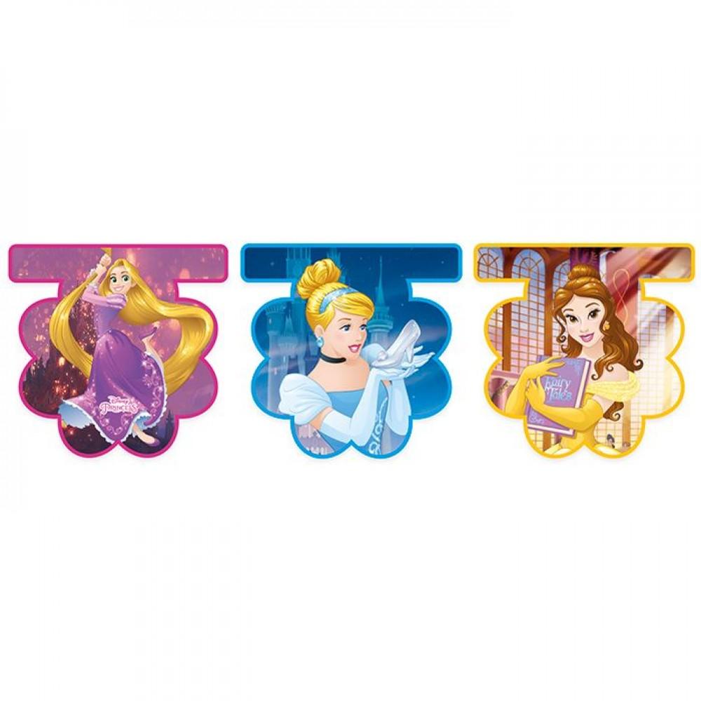 Гирлянда-вымпелы «Принцессы Дисней»