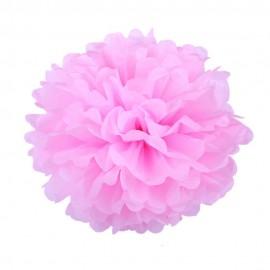Розовый 25см Помпон