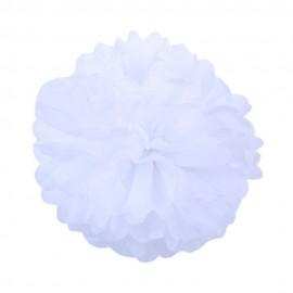 Белый 35см Помпон