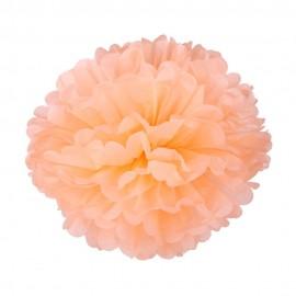 Персиковый 35см Помпон