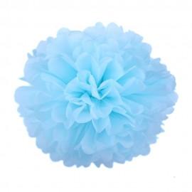 Голубой 35см Помпон
