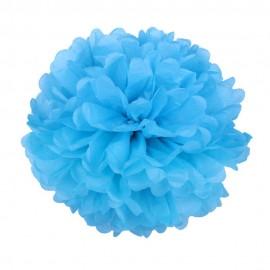 Синий 35см Помпон