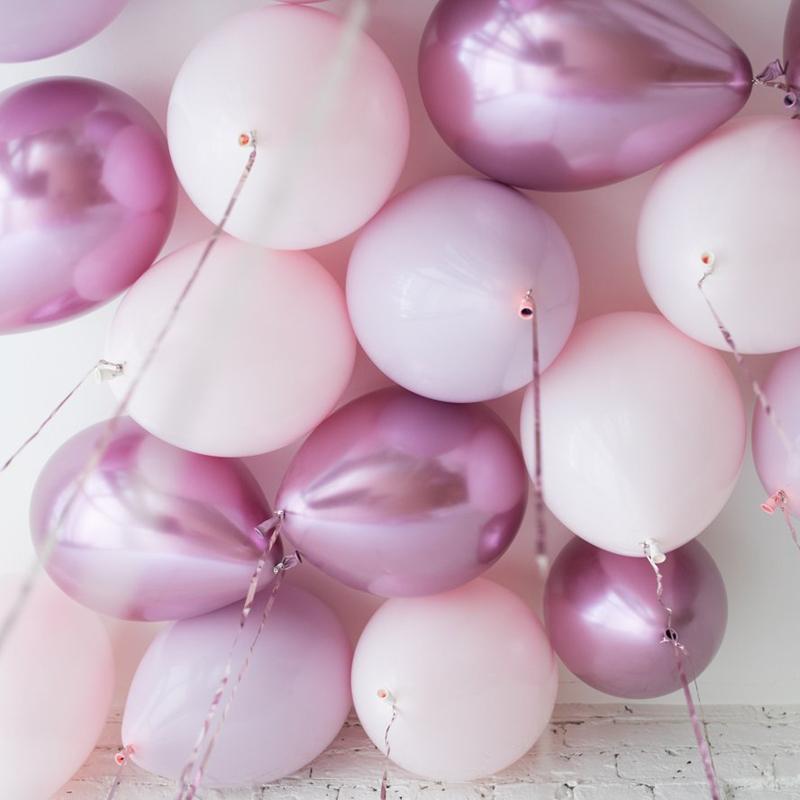Розовый хром 25шт