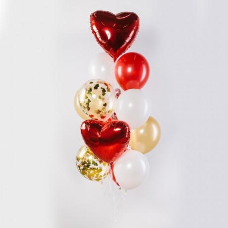 От всего сердца Фонтан из шаров