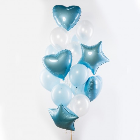 Небо Счастья Фонтан из шаров