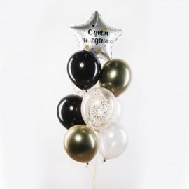 Стильный День Рождения Фонтан из шаров