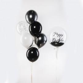Темный стиль Фонтан из шаров