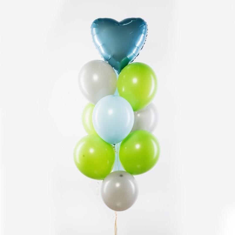 Фонтан из гелиевых шаров Особая любовь