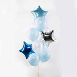 Голубая лагуна Фонтан из шаров
