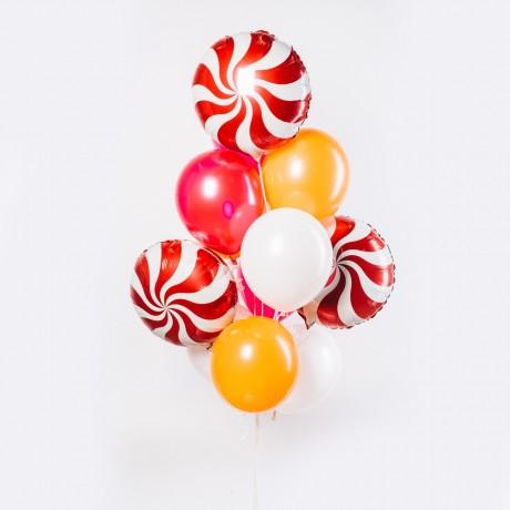 Карамельный микс Фонтан из шаров