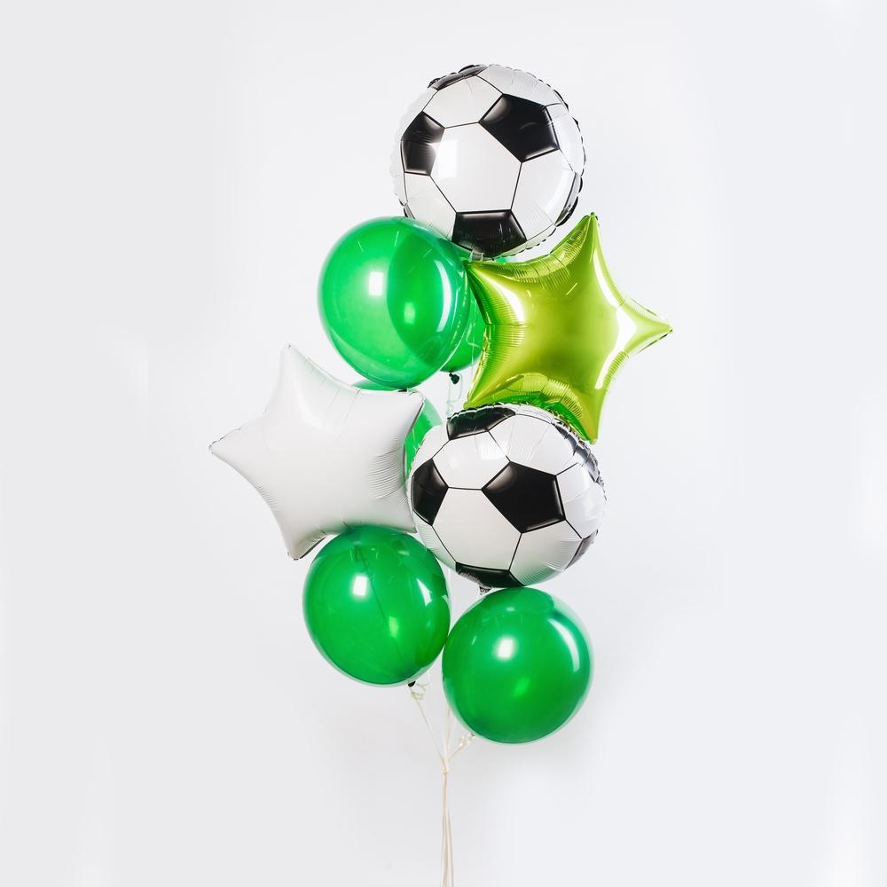 Футбольное поле Фонтан из шаров