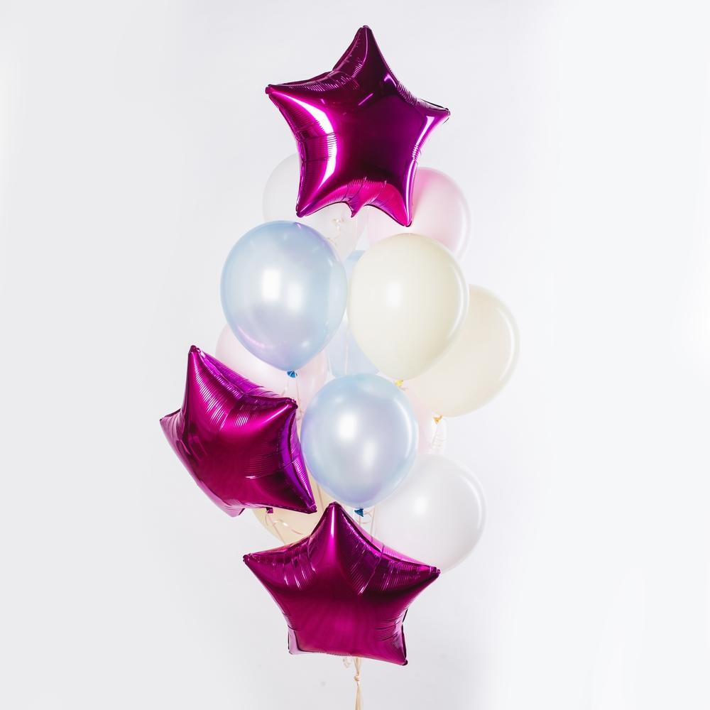 Яркая звезда Фонтан из шаров