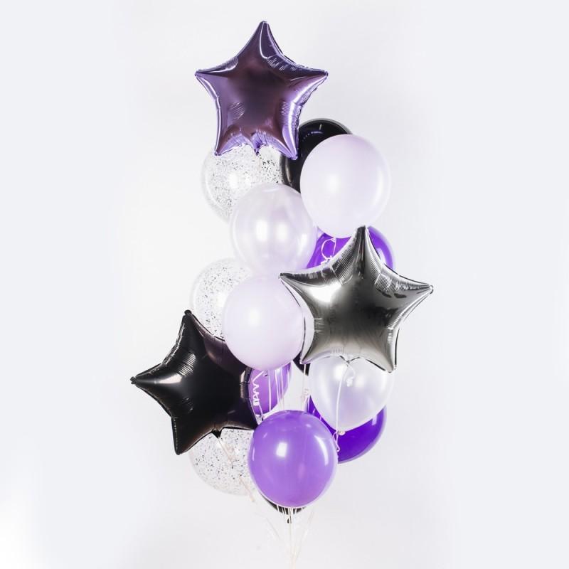 Черничный пирог Фонтан из шаров
