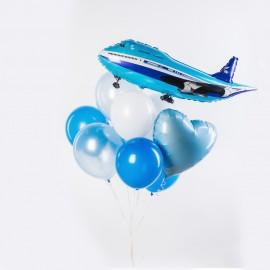 Полет в облаках Фонтан из шаров