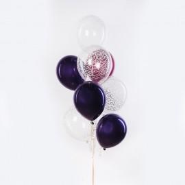 Узоры Фонтан из шаров