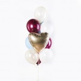 Стильное признание Фонтан из шаров
