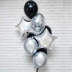 Его праздник Фонтан из шаров