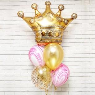 Королева красоты Фонтан из шаров