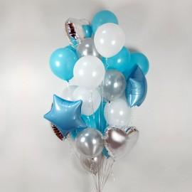 Много счастья Фонтан из шаров